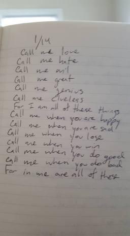 Call me love